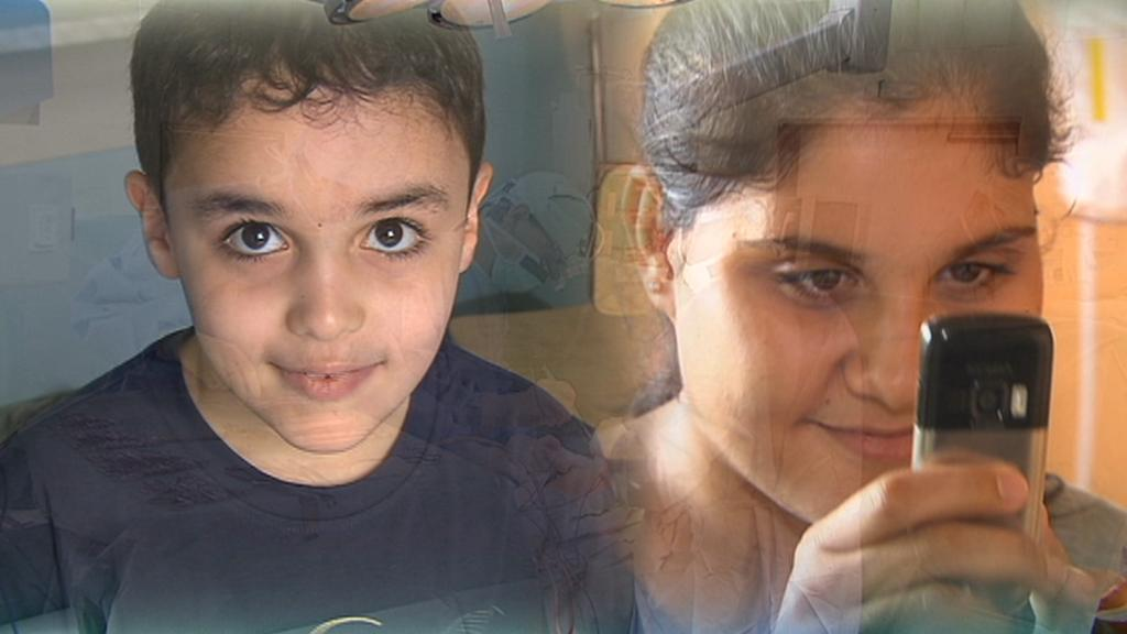 Libyjské děti operované v Motole