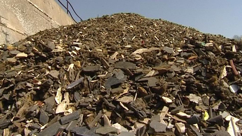 Ilegální odpad v Libčevsi