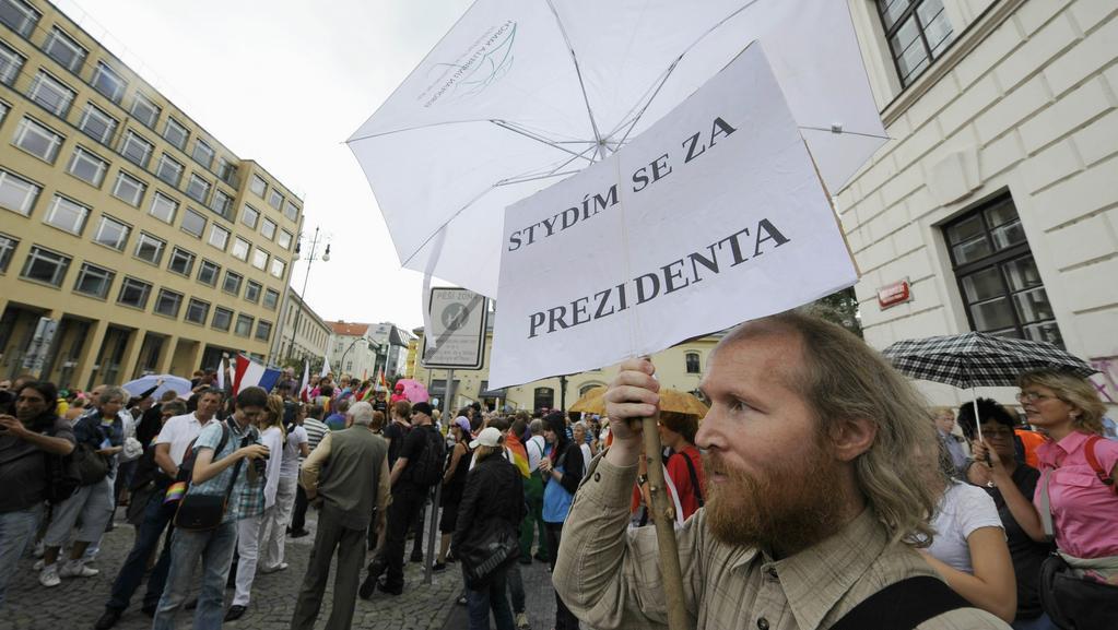Průvod hrdosti v Praze