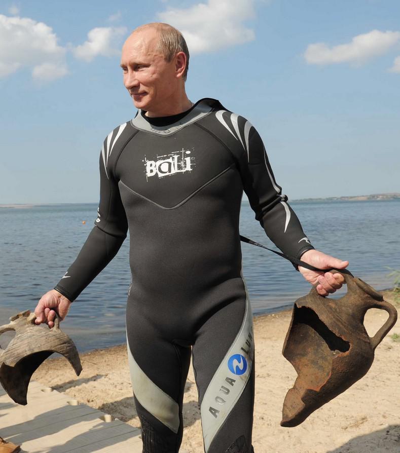 Archeolog Vladimir Putin