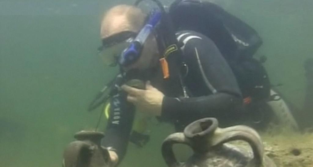 Putin archeologem