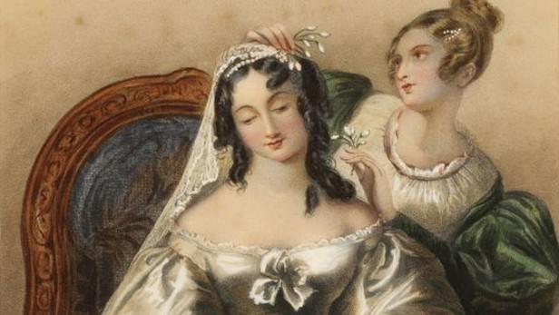 Z výstavy Dámský salon na šlechtických sídlech