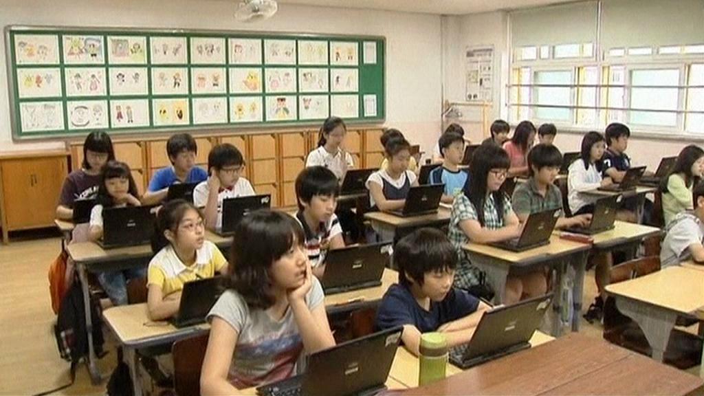 Škola v Jižní Koreji