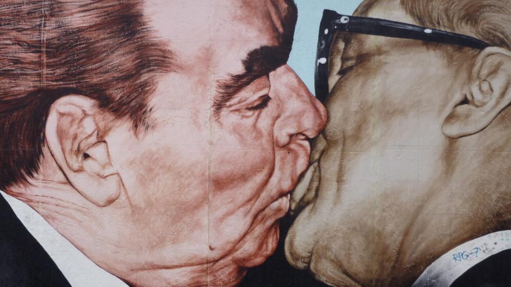 Bratrský polibek (Dmitrij Vrubel)