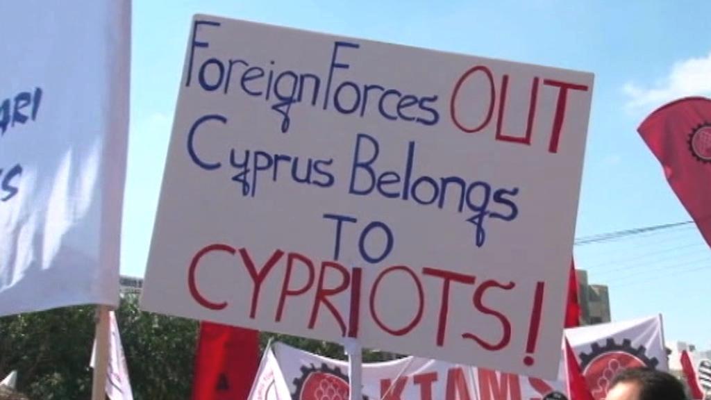 Protesty v severní části Kypru