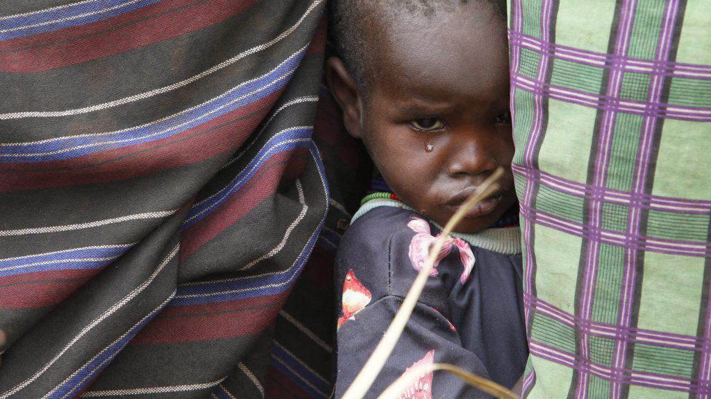 Dítě v Keni
