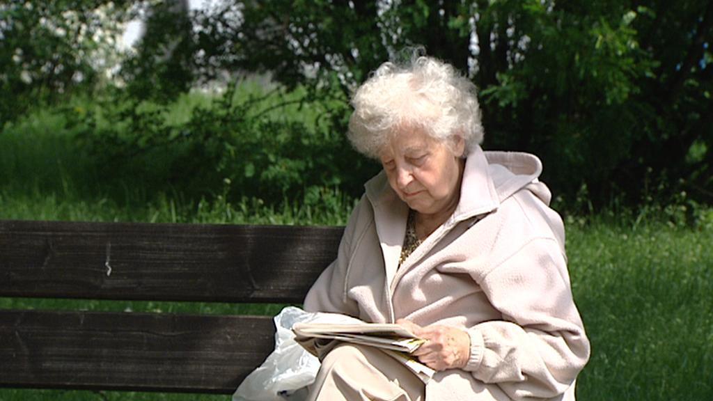 Důchodkyně