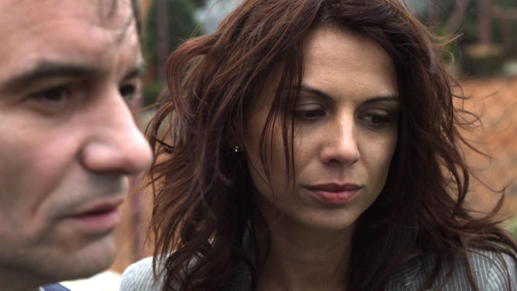Ivan Trojan a  Kristína Turjanová ve filmu Viditelný svět