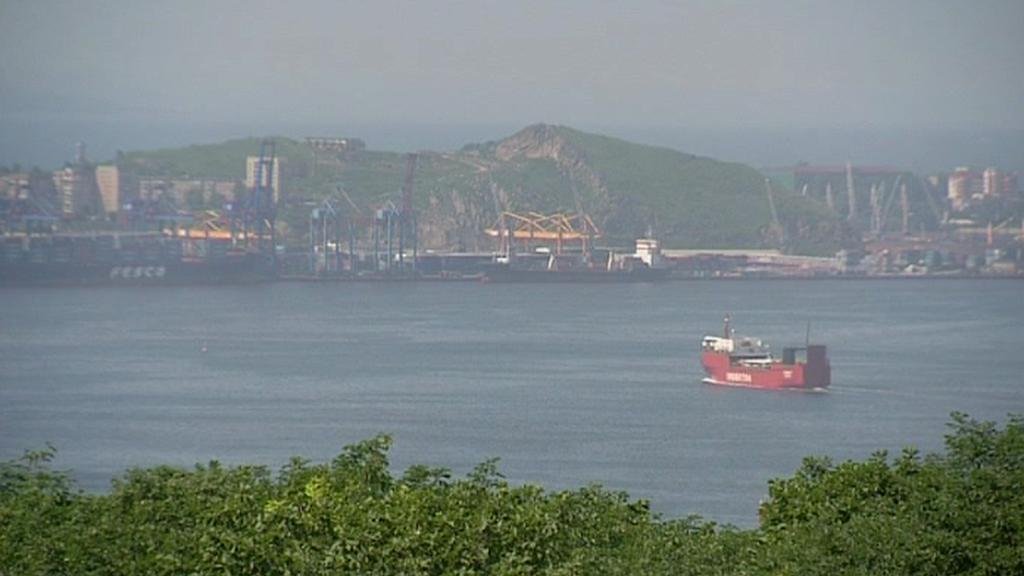 Přístav ve Vladivostoku