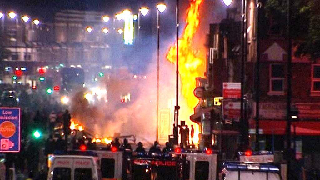 Nepokoje v Tottenhamu