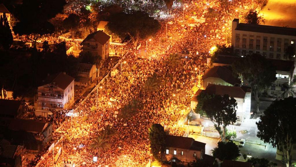 Izraelci vyšli do ulic