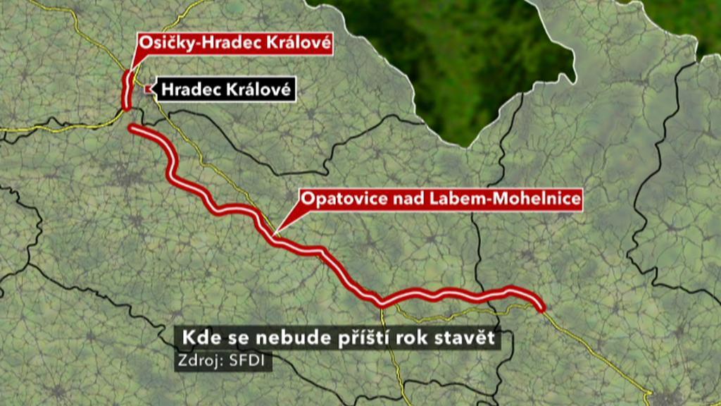 Severní spojení Čech a Moravy