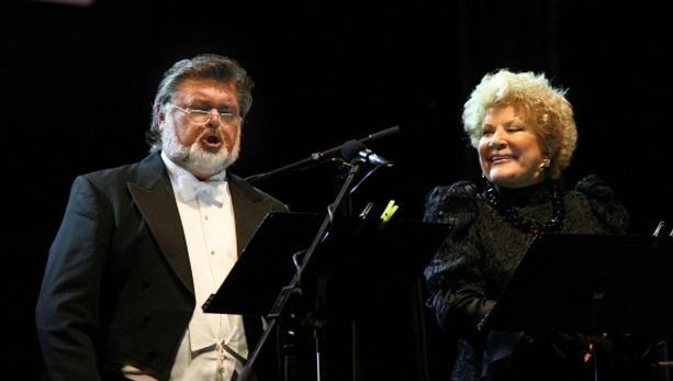 Peter Dvorský a Jelena Obrazcovová