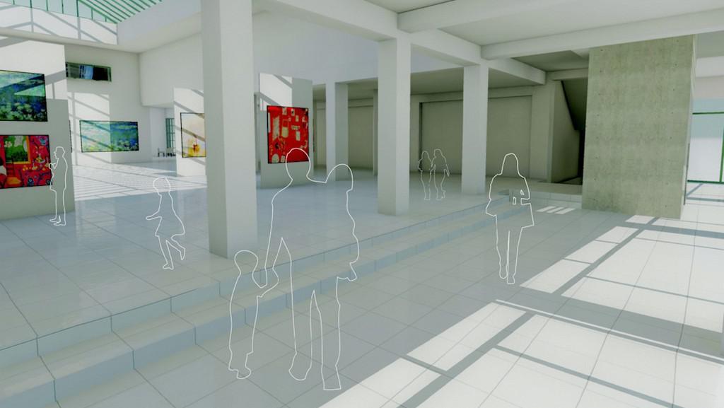 Mánes / návrh rekonstrukce