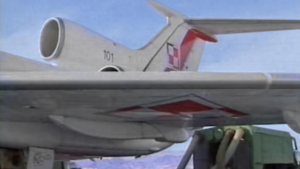 Polské vládní letadlo