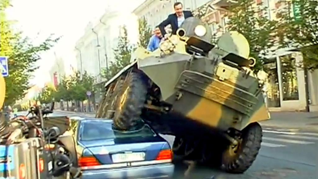 Vilniuský starosta bojuje proti špatnému parkování
