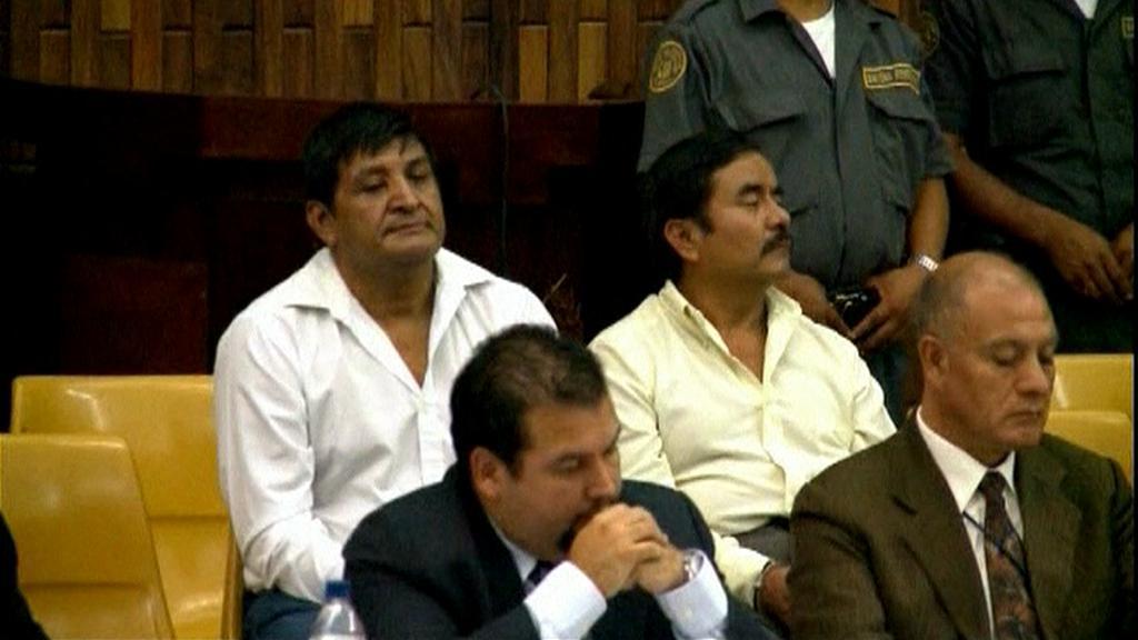 Obvinění guatemalští vojáci