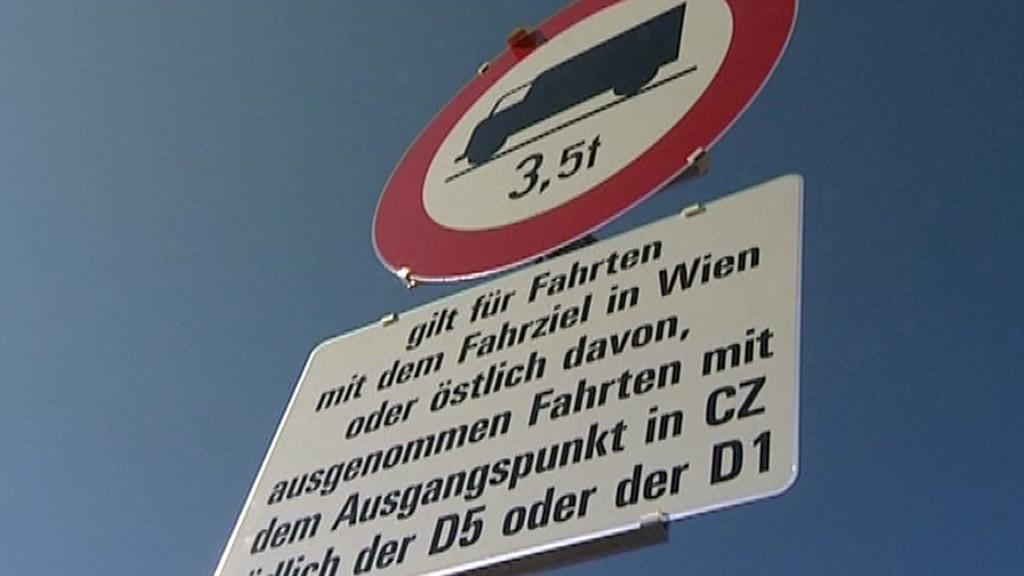 Zákaz vjezdu nákladních vozidel
