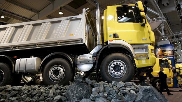 Kamion značky DAF
