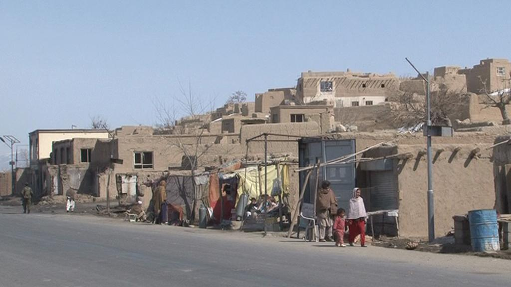 Vesnice v Afghánistánu