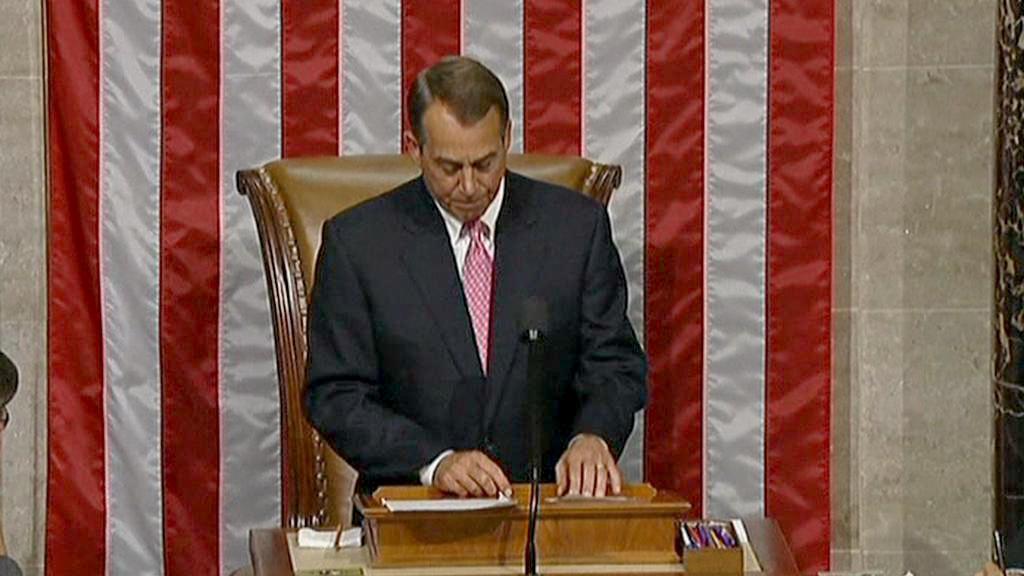 John Boehner ve Sněmovně reprezentantů