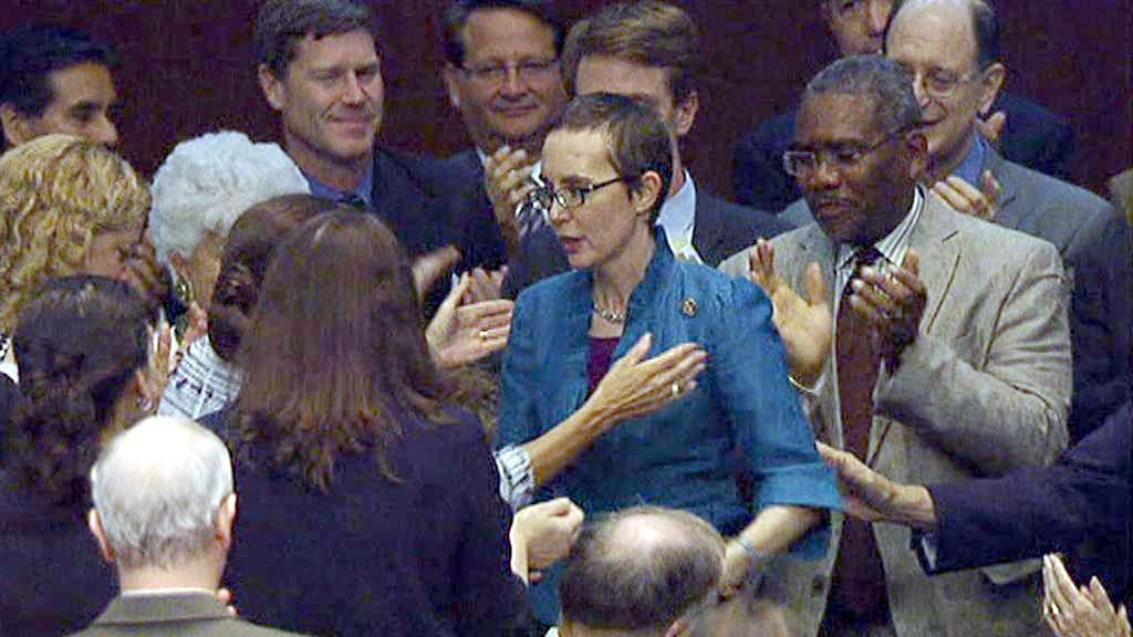 Gabrielle Giffordsová ve Sněmovně reprezentantů