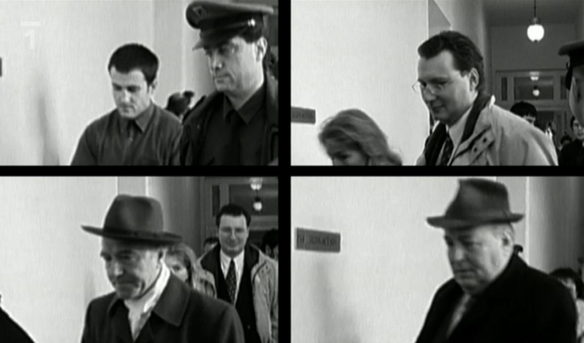 Václav Vojtíšek, Tomáš Roit, Vladislav Naď a Josef Matoulek