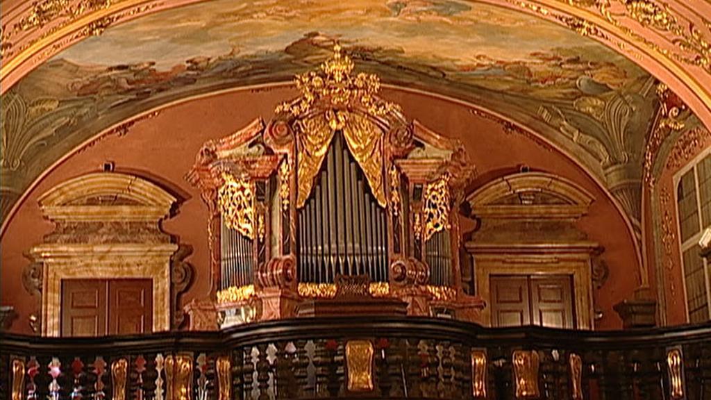 Zrcadlová kaple Klementina / barokní varhany