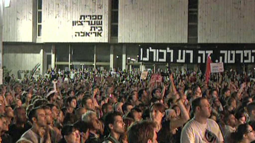 V Izraeli se protestuje proti rostoucím životním nákladům
