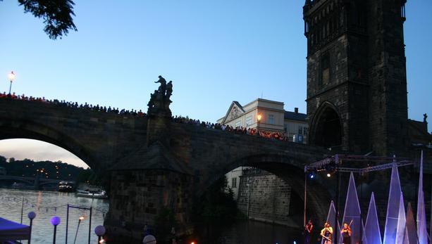 Lávka River Stage