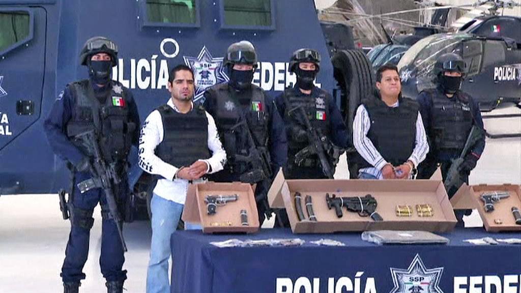 Zatčení Josého Hernándeze a jeho osobního strážce