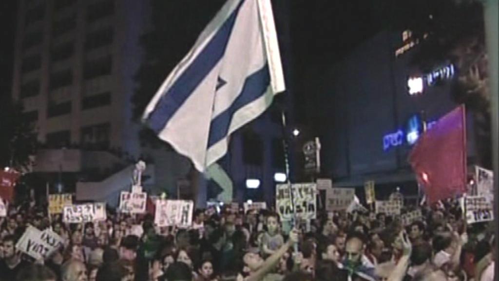 Izraelci demonstrovali proti vysokým životním nákladům