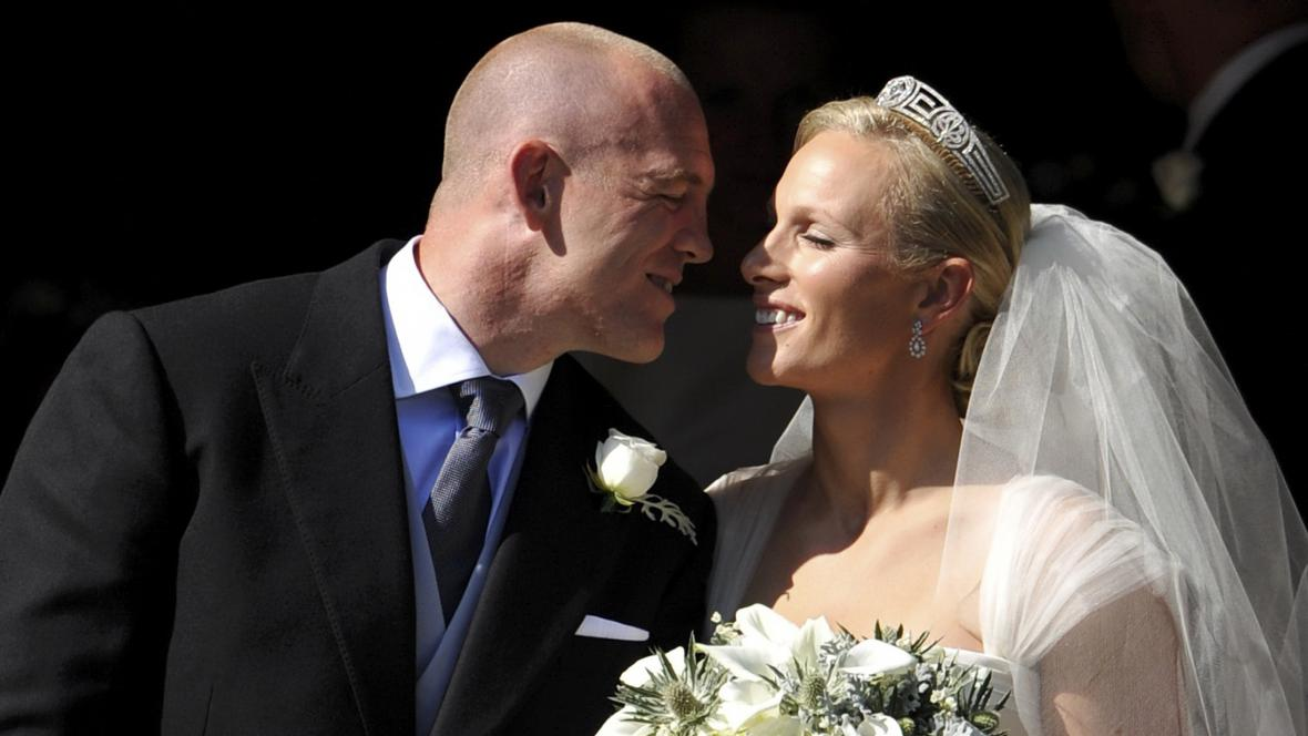 Zara Phillipsová si vzala Mikea Tindalla