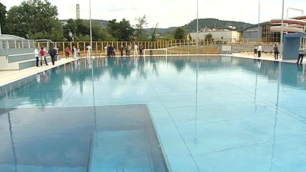 Nový bazén v Děčíně