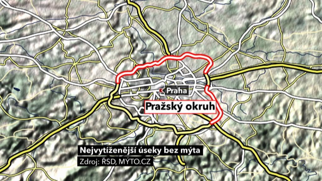 Severovýchodní část Pražského okruhu