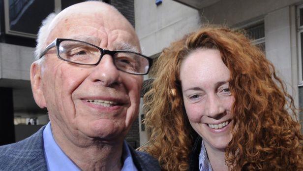 Rupert Murdoch s Rebekou Brooksovou