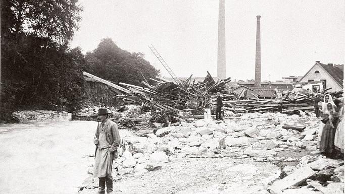 Povodeň v Krkonoších v roce 1897
