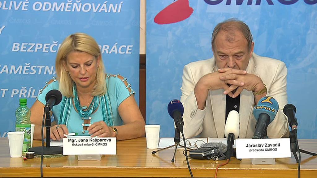 Jana Kašparová a Jaroslav Zavadil