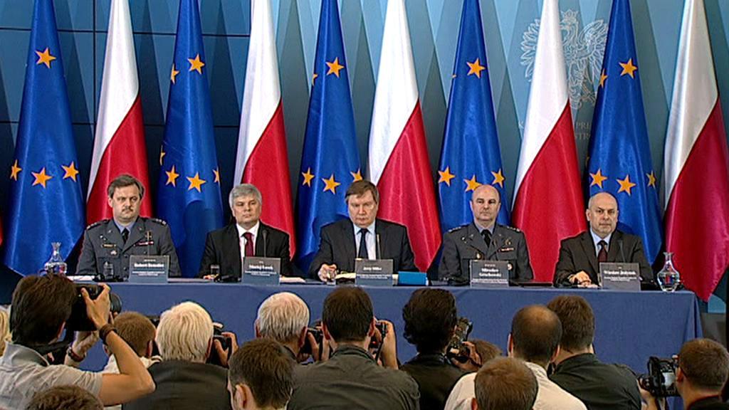 Tisková konference k závěrům vyšetřování smolenské tragédie