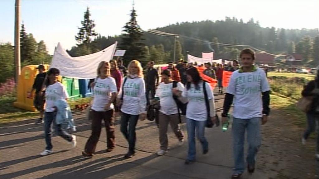 Protest proti blokádě