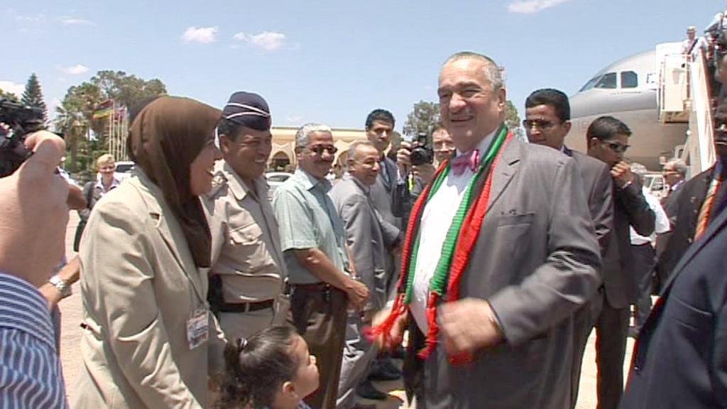 Karel Schwarzenberg v Libyi