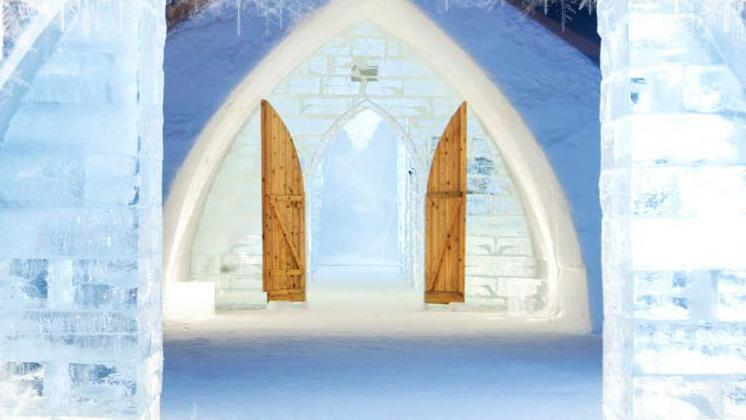 Ice Hotel Canada