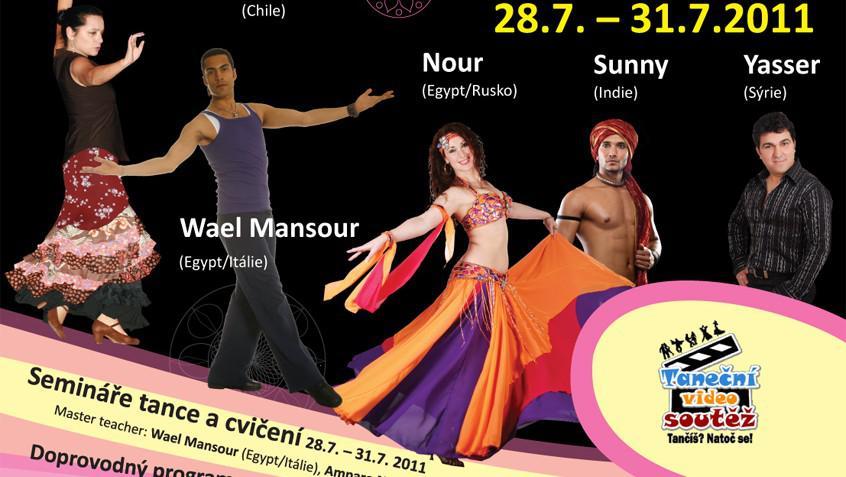 Let\'s Dance Prague International Festival 2011 / detail plakátu
