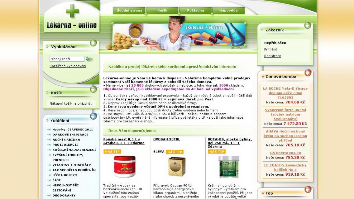 www.lekarna-online.com