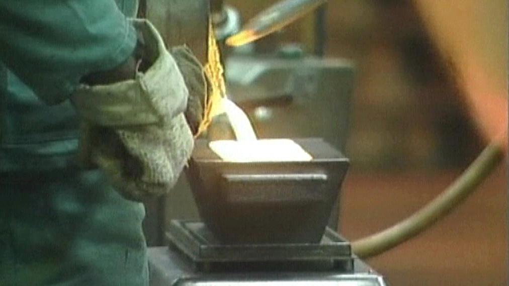 Zpracování zlata v JAR