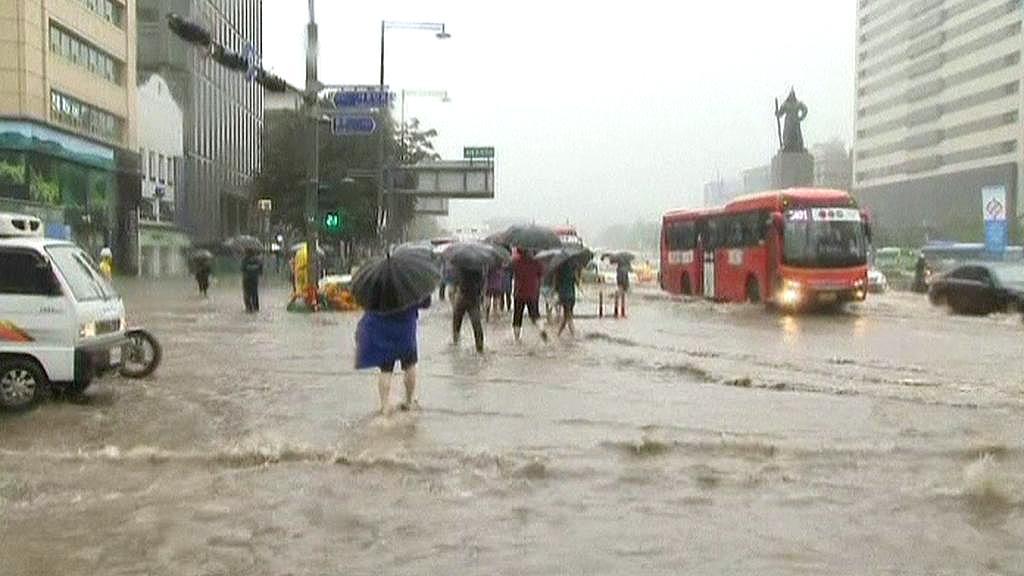 Záplavy v Soulu