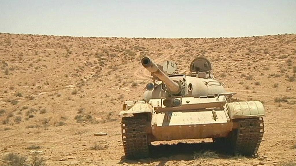 Libyjský tank