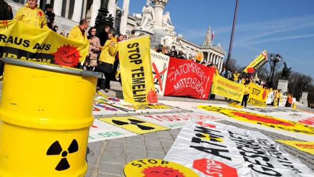 Protest proti jádru