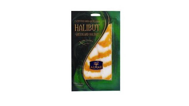 Uzený halibut obsahující listerii