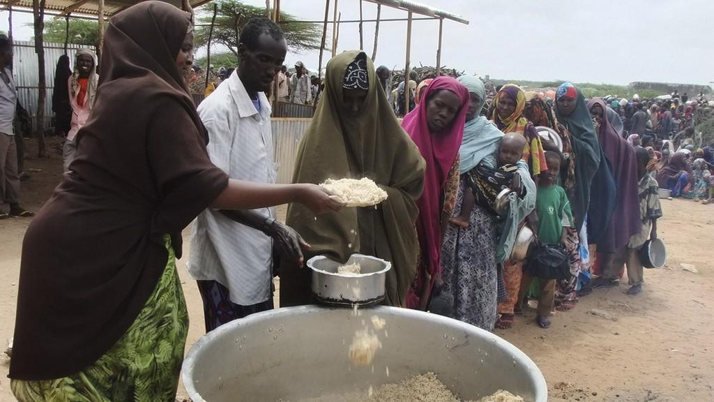 Hlad v Africe
